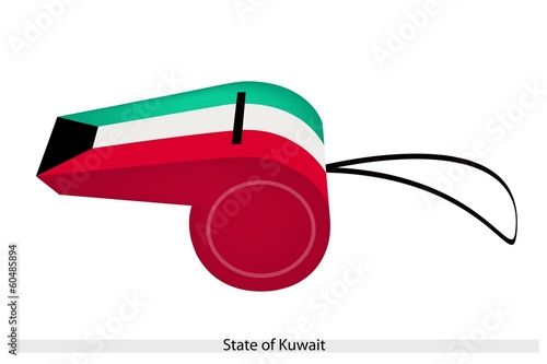 A Whistle of The State of Kuwait