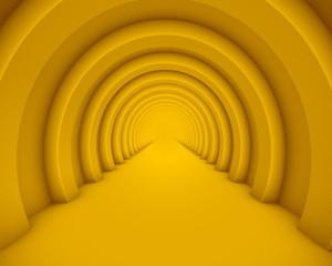 цветной  тоннель
