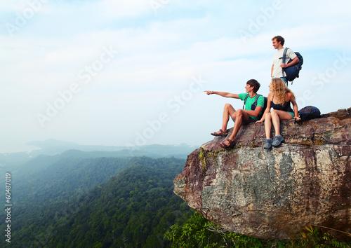 Staande foto Overige Hikers