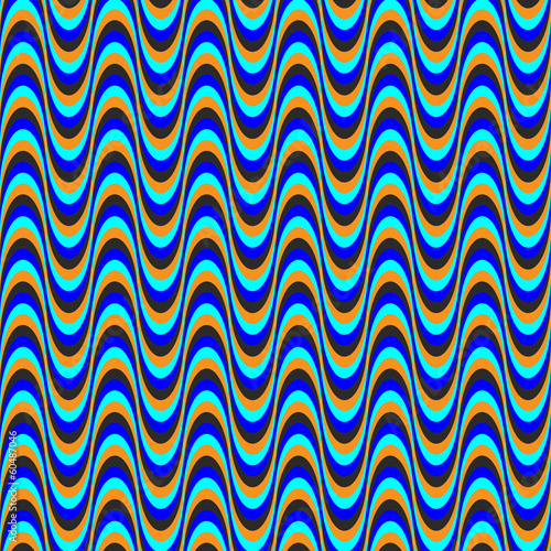 optical illusion wave