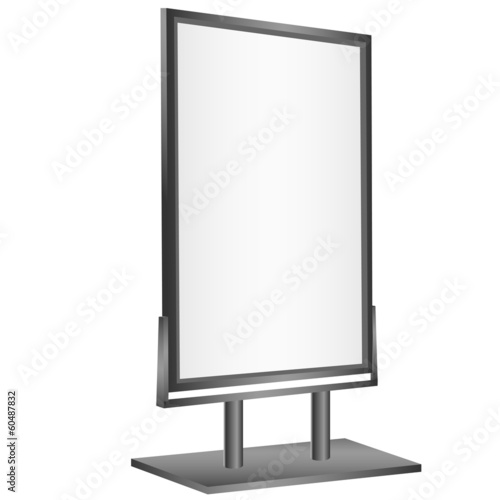 Blank display pannel.