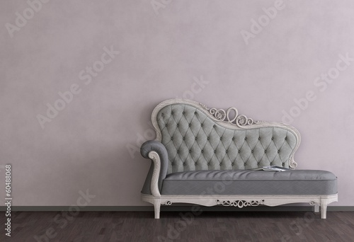 canvas print picture Vintage Sofa