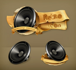 Speaker, vector icon
