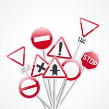 code la route, signalisation