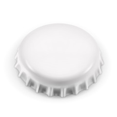 Bottle cap, vector object