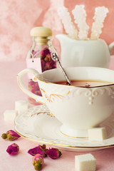 Tea Party in Shabby Chic style