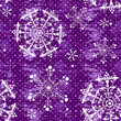 Seamless violet christmas grunge pattern