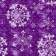 Seamless violet christmas grunge pattern