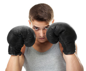 Boxer ready to figh