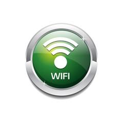 Wifi Circular Rounded  Vector Icon Button