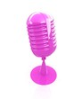 Glossy microphone