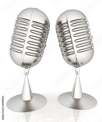 metal microphones