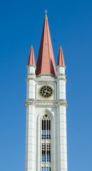 gothic style clock tower