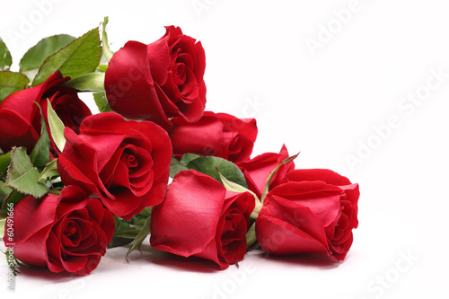 Plexiglas Rozen Bouquet of roses