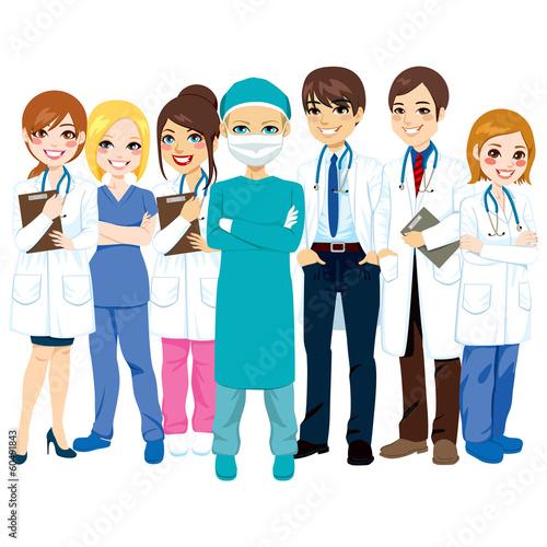 Hospital Medical Team