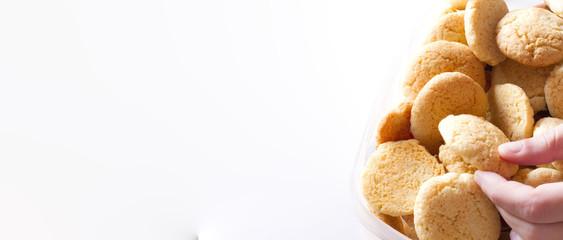 la presa del biscotto