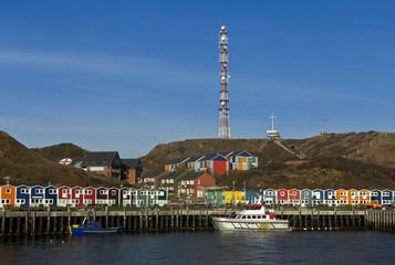 Helgoland fishermen's wharf