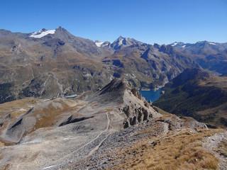 Panorama sur la Vanoise (depuis l'Aiguille Percée) - Alpes
