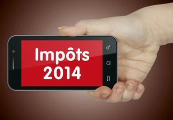 Impôts 2014. Mobile