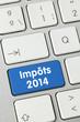 Impôts 2014. Clavier