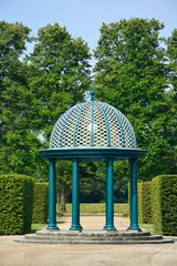 Pavilion in Herrenhausen Gardens, Hannover, Lower Saxony, German