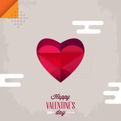 Valentine' day background. Vector illustration