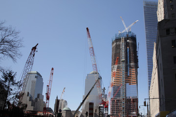 Building work at Ground Zero