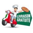 Pizza - Livraison gratuite - 60495881