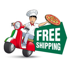 Pizza - Free shipping