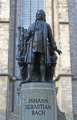 Bach Denkmal in Leipzig