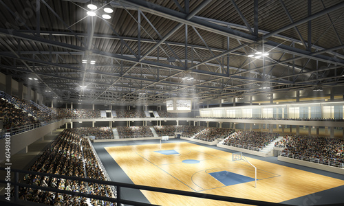 Papiers peints Stade de football Basketballhalle