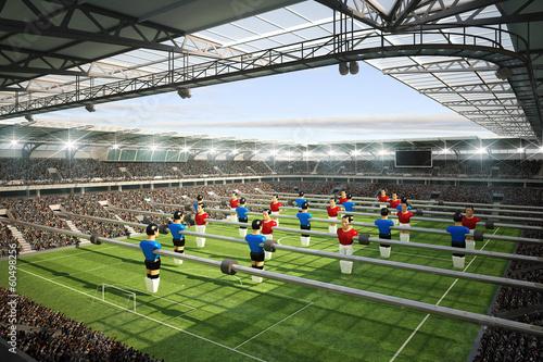Foto op Canvas Stadion Stadion Kicker