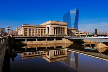 The 30th Street Station of Philadelphia