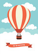 Hot Air Balloon Vintage Graphic - 60499047