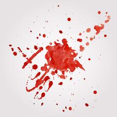 Vector blood splatter