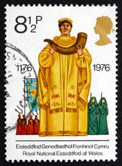Postage stamp GB 1976 Archdruid, Eisteddfod
