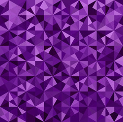 Abstract Purple Triangle Background
