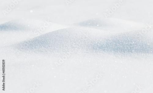Blurred snow details