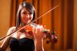 Violinist portrait
