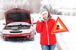 Leinwanddruck Bild - Car trouble