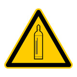 symbol for gas cylinder german gasflasche g448