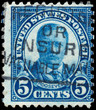 UNITED STATES - CIRCA 1922: Vintage US Postage Stamp celebrating