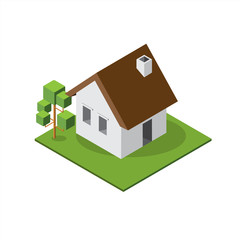 Isometric Small House