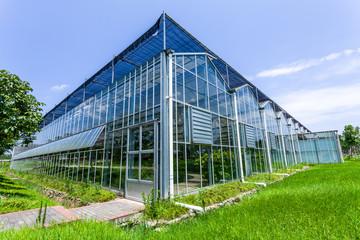 Glass conservatory