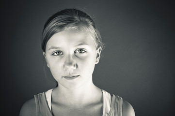 Bullied child