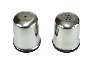 saltcellar and pepper shaker