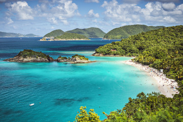 Trunk Bay, St. John, United States Virgin Islands