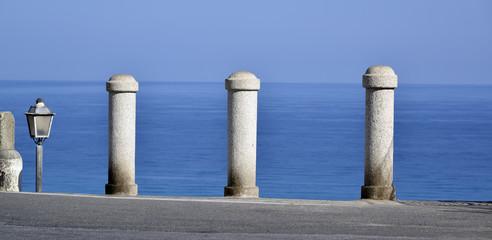 Prospettiva sul mare