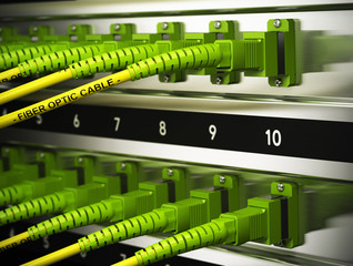 Network Infrastructure, Fiber Optics Connections