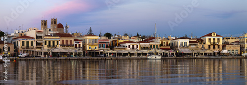 Aegina island panorama.Greece.